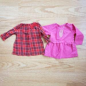 Baby Girl Long Sleeve Shirt Bundle